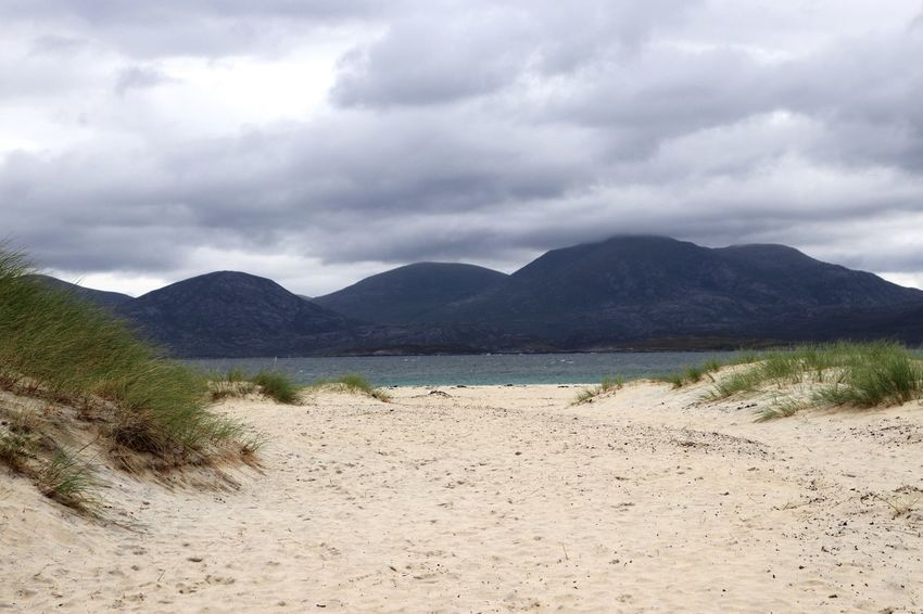 Scotland Cloud - Sky Sky Mountain Water Land Tranquility Beach Beauty In Nature Scenics - Nature Nature Sand Tranquil Scene Mountain Range Sea Day No People Non-urban Scene Idyllic Environment Outdoors