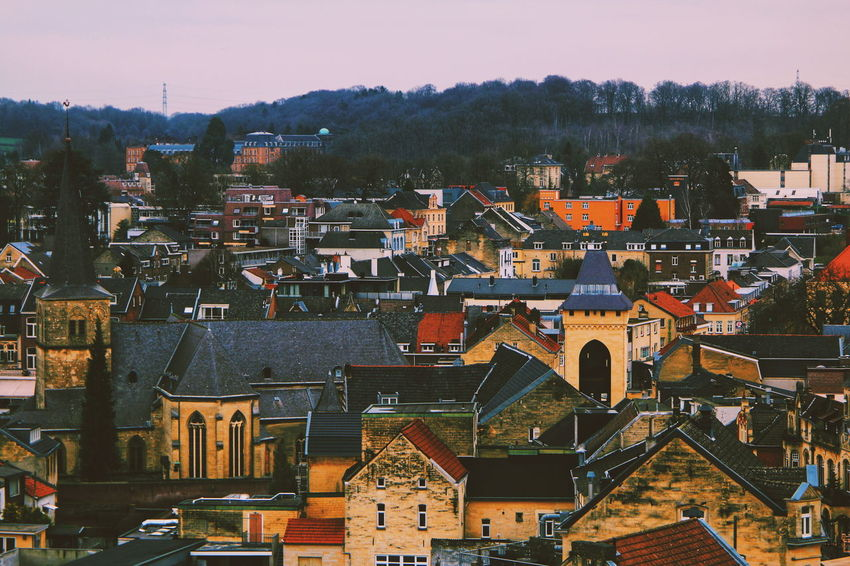 Valkenburg Castle Ruins (My travel photo series last December to the Netherlands). Winter Cold Temperature Cold Windy EyeEm Selects Cityscape City Urban Skyline Sky Architecture Building Exterior TOWNSCAPE Old Town Rooftop Crowded The Architect - 2018 EyeEm Awards