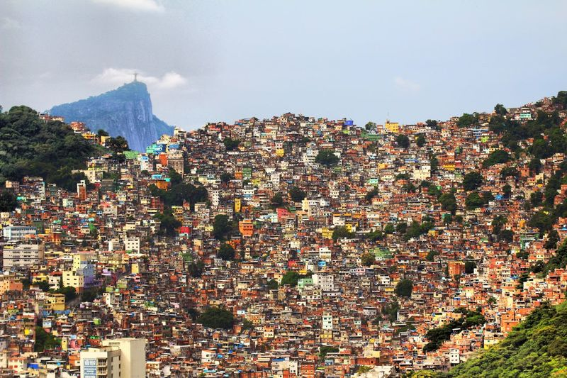 Welcom to Favelas Brasil Favelabrazil Favelas Mountain Sky Day Outdoors Architecture Scenics Cityscape Beauty In Nature Building Exterior No People Nature City Mobility In Mega Cities