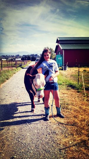 My hereford steer Cooter:) Cooter Steer PNW Farm Life