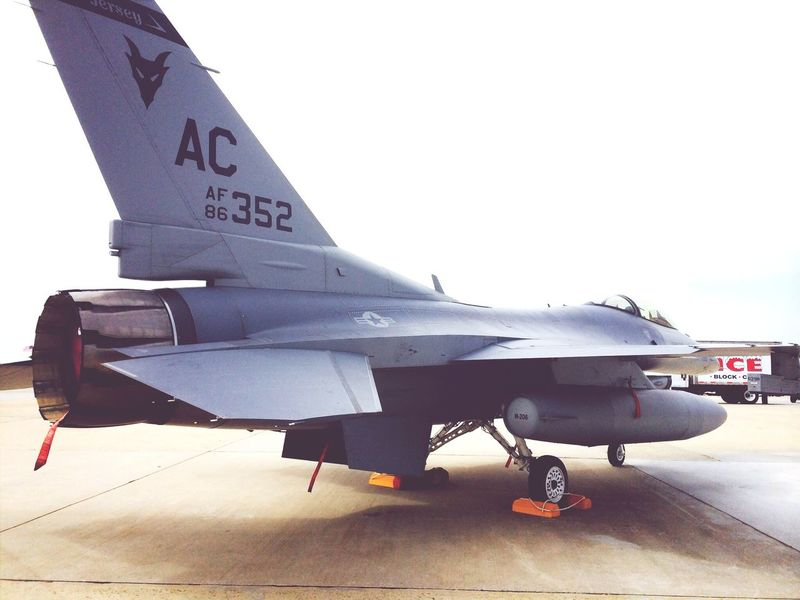 F-16 Airforce Aviation Fighter Jet
