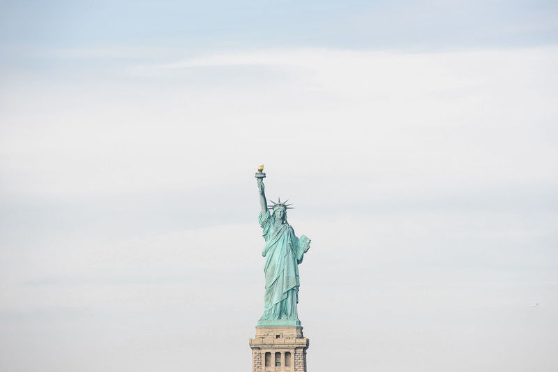 New York New York City NYC Architecture City Travel Tourism Statue Of Liberty Sculpture Statue Human Representation Female Likeness Travel Destinations Freedom Sky Flame Representation No People Art And Craft The Past Flaming Torch History Day Nature Outdoors Independence