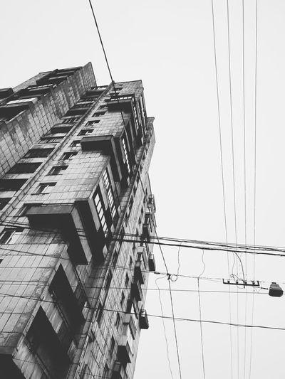 Withgalaxy снятонаgalaxy Saint Petersburg Санкт-Петербург Bw Bnw Blackandwhite Black And White Black & White Building Exterior Outdoors City Skyscraper Modern Sky Architecture Building Exterior Built Structure