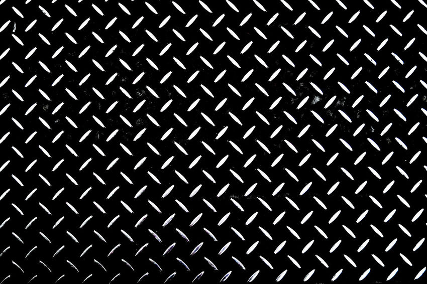 Postcode Postcards Rethink Things Backgrounds Brushed Metal Close-up Day Diamond Plate Full Frame Indoors  No People Pattern Repetition Seamless Pattern Textured  Black & White Friday Black And White Friday