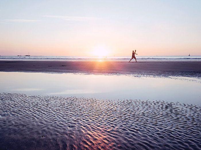 Landscape Sunset Silhouette Sky Light And Shadow Light Nature Beach EyeEm Nature Lover EyeEm Best Shots