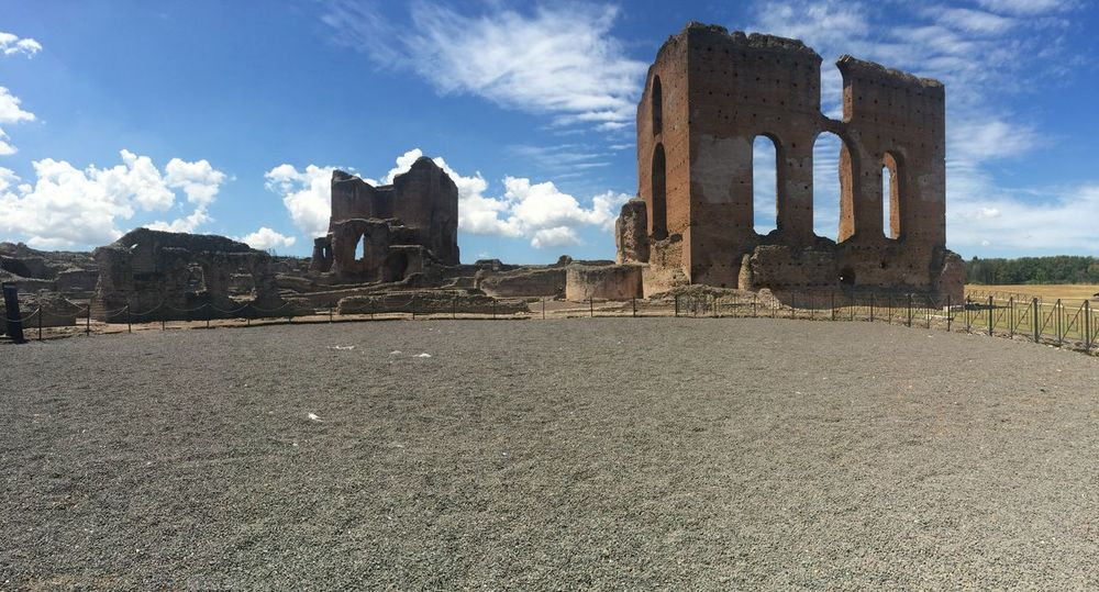 Roma Discovering Great Works Villa Dei Quintili Historical Building Architecture Old Buildings Rome Appia Antica
