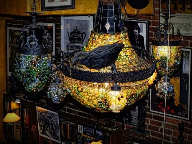 Port Huron The Raven Cafe Downtown Chandelier