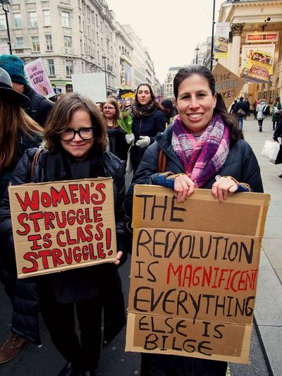 Womens March. London. 19/01/2019 LONDON❤ London News Equality Protesters Protest Womens March 2019 Womens March Womens March London Stevesevilempire Steve Merrick OM-D Olympus Text Women Looking At Camera Communication Architecture Portrait Group Of People