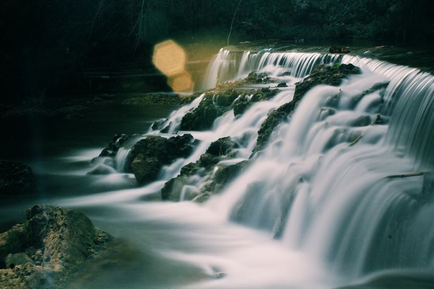 waterfall Beauty In Nature Blurred Motion Day Falling Water Flowing Flowing Water Forest Long Exposure Motion Nature No People Outdoors Power In Nature Purity River Rock Rock - Object Scenics - Nature Solid Sport Stream - Flowing Water Tree Water Waterfall