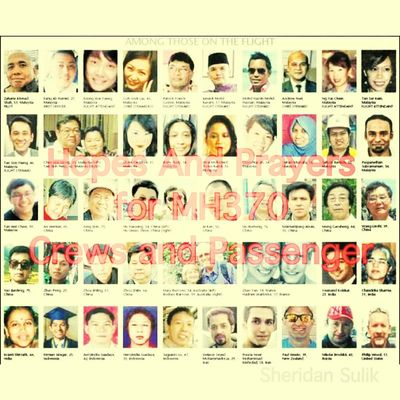 Hopes And Prayers for Crews and Passengers of MH370 PrayforMH370 Pray4mh370