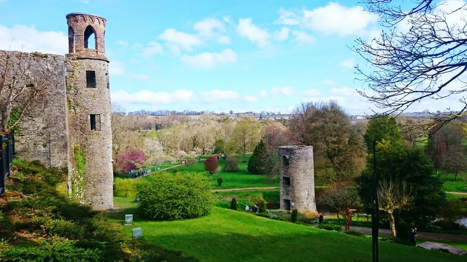 Torres en el Castillo de Blarney en Irlanda Your Design Story Two Towers Blarney Castle Spring Garden Ireland Travel Tourism The Architect - 2016 EyeEm Awards The Great Outdoors - 2016 EyeEm Awards An Eye For Travel