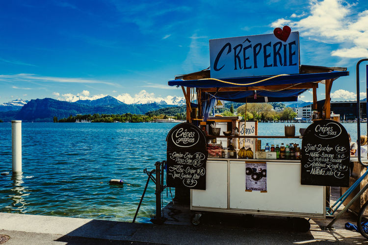 Beauty In Nature Blue Cloud Cloud - Sky Day Idyllic Mountain Mountain Range Nature No People Outdoors Scenics Sky The Street Photographer - 2016 EyeEm Awards Tranquil Scene Tranquility Water The Shop Around The Corner Crêpes Crêperie Creperia Creperia Del Mar
