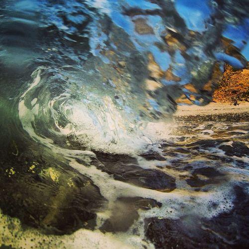 Cornwall Waves Wave Ocean