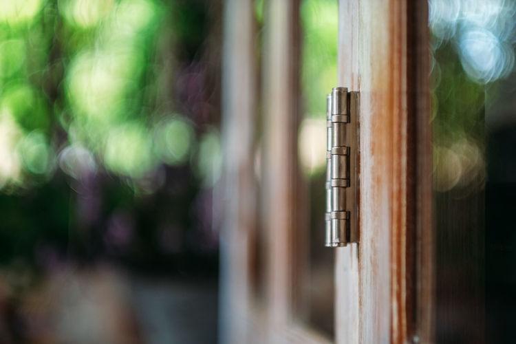Door hinges Door Hinges Hanging Close-up Door Locked Closed Door Lock Safe