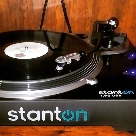 Rediscovering Vinyl. Stanton  Directdrive Classic Fleetwoodmac Rumors