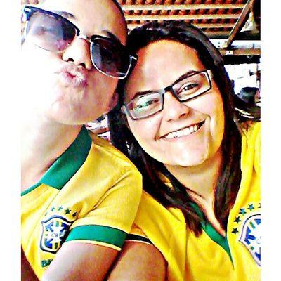 Pratria amada Brasiiiiiuu!!! Brasil Rumoaohexa WorldCupBrazil Love happines ⭐ ⭐ ⭐ ⭐ ⭐ ⭐