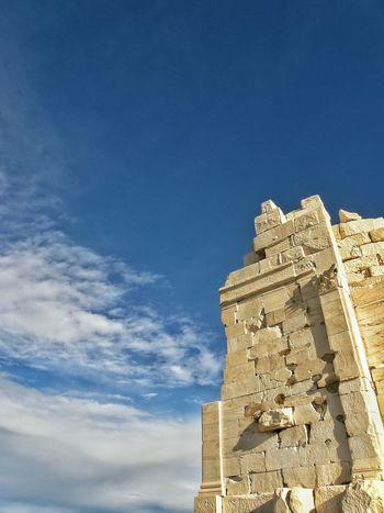 Mousson Hill Filopapou Sky And Clouds Sky Ancient Ruins Ancient Architecture Ancient Civilization Athens, Greece Athens