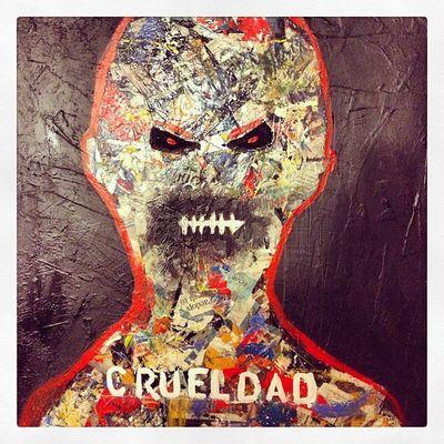 Crueldad Arte Abstract Negua
