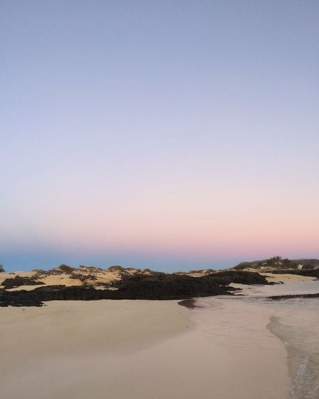 Sunset at El Cotillo