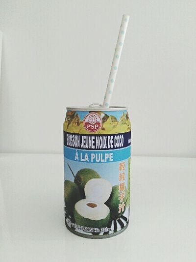 Anti-canicule Summertime Young Coconut Juice Fresh Drink
