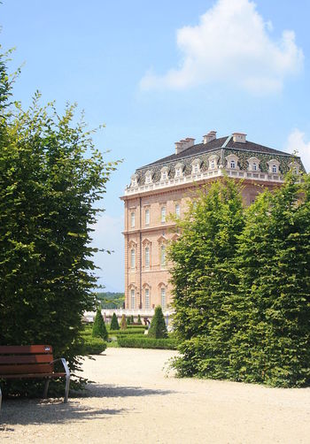 Architecture Building Day Garden Green History Outdoors Palace Sky Sunlight Tree Venaria Reale