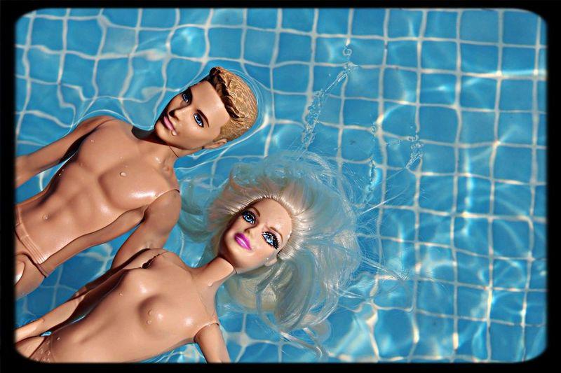 Barbie & Ken Enjoying Life Relaxing Hanging Out