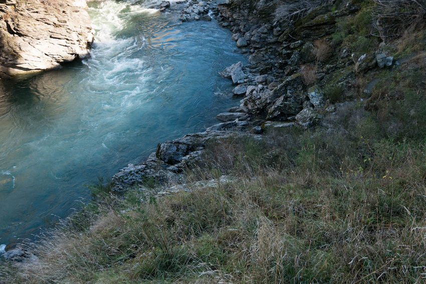 Beauty In Nature Day Grass Holiday Kawarau River Nature New Zealand No People Outdoors River Water