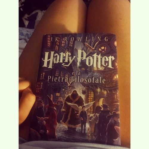 HP Harrypotter Lapietrafilosofale Book iminlove giovedìtranquilli