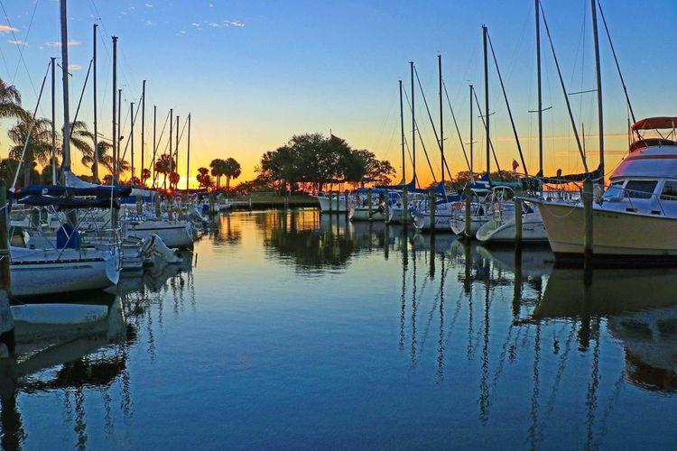 Harbor Living Sunrise Water Blue Sky