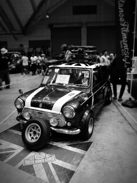 ArtOfSpeed2017 Black And White Photography HuaweiP9 Vintage Cars Morris Minor