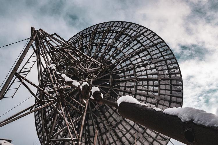 Forgotten satellite dish