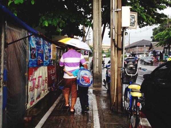 Thailand Streettun Rain Snap Life