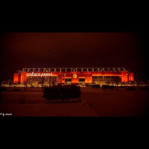 Nightshooting Coface Arena  Mainz Rlp Longexposure