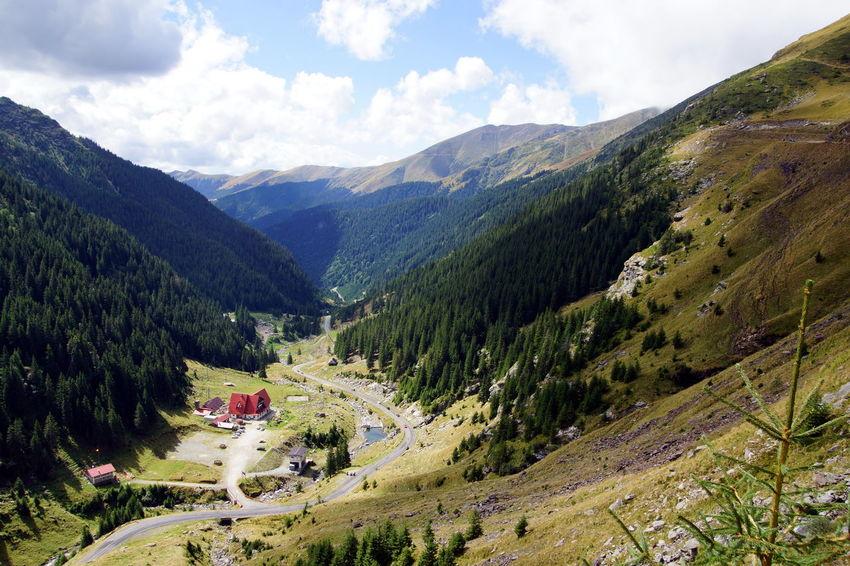 Transfagarasan, Romania Road Nature Romanian Lands Places Mountains