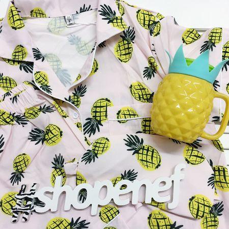 Shopenef  Pineapple Pijamas