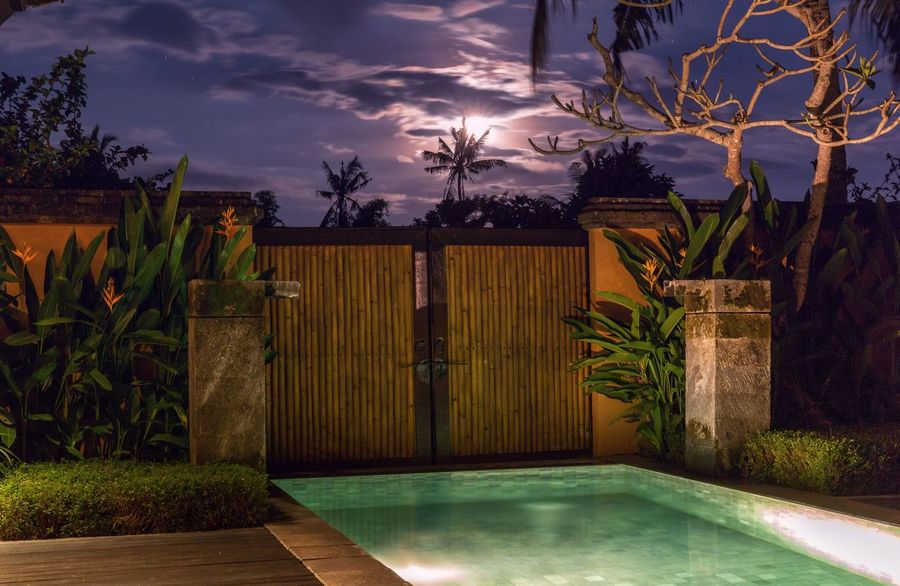 Behind the sunset Canon Ubud Travel Photography Bali Travel Holiday Luxuryhotel TheChedi Ghmhotels Purple Sunset Nature Photography
