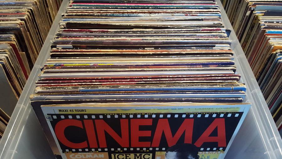 Pivotal Ideas No Edit No Filter Cinema Vinil Box Stack Vintage Lieblingsteil
