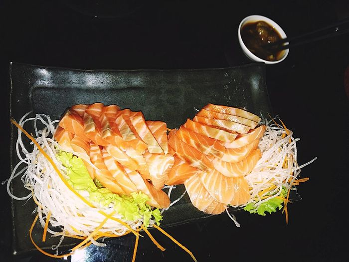 Sashimi Japanese Food Romantic Color Palatability Sashimi  Food Freshness