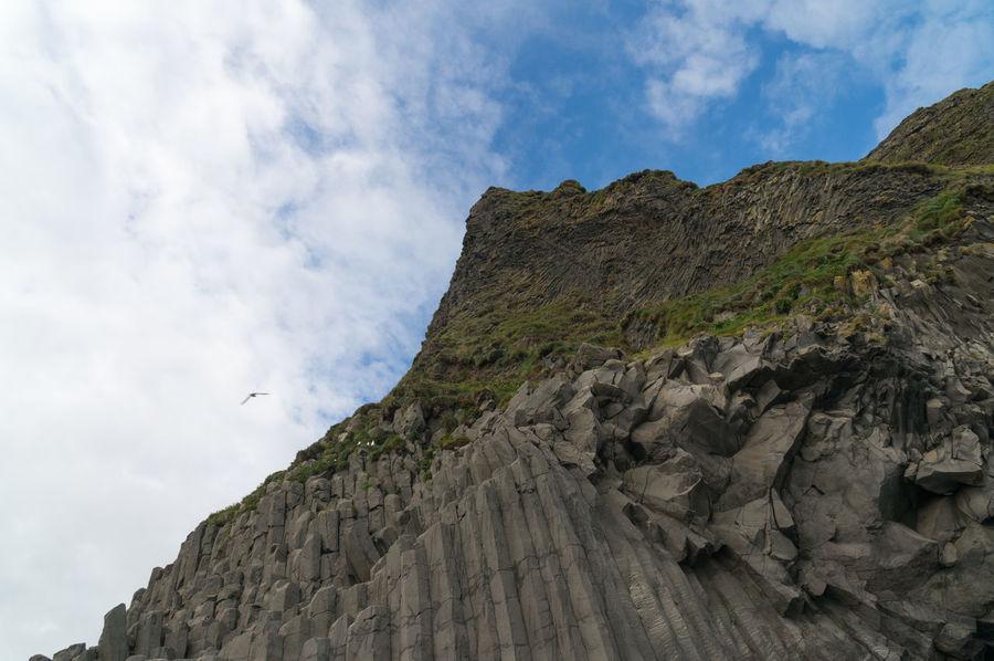 Black Sand Beach, Iceland Adventure Atlantic Ocean Beach Black Black Sand Beach Blacksand Day Destination Geology Iceland Island Landscape Nature Nordic Ocean Outdoors Roadtrip Seaside Seaview Travel Vik Volcano
