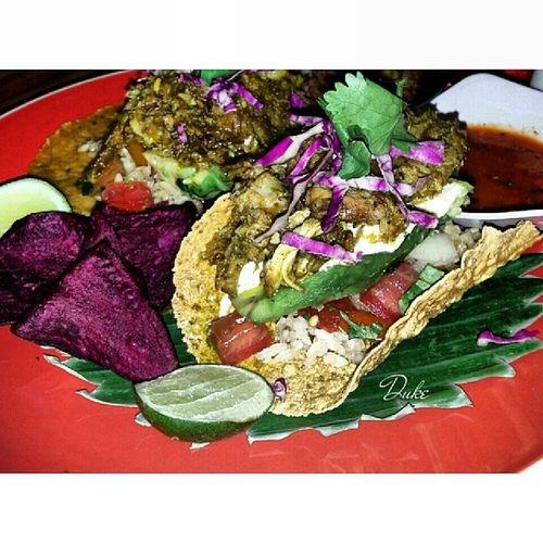 Nachos wrapped Sucklingpig Mexican Food cuisine culinary gastronomic foodporn foodgasm foodklopedia foodart Bali taste foodlover instafood foodstagram SquareAndroid lgg2