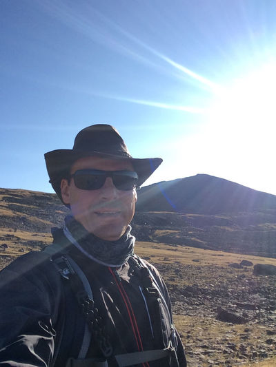 Mount Aragat Aragat Armenia September Clothing Day Fashion Front View Glasses Leisure Activity Lens Flare Lifestyles Looking At Camera Mountain Nature One Person Outdoors Portrait Real People Sky Sunbeam Sunlight Travel Destination W-armenien Young Adult This Is My Skin