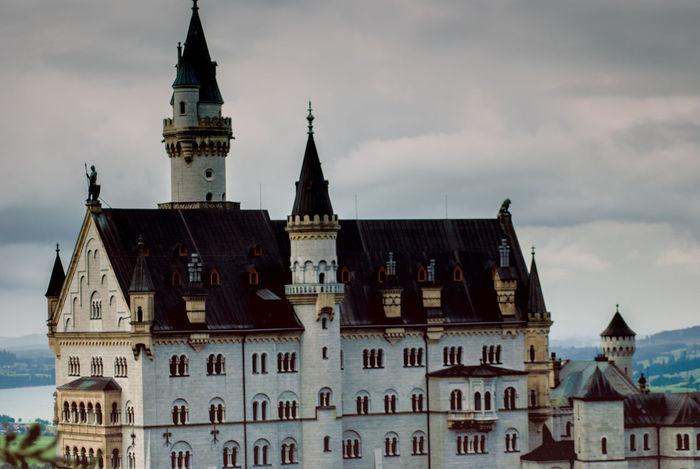 Architecture Architecture_collection Art ArtWork Autumn Bavarian Tradition Beautiful Building Exterior Calendars GERMANY🇩🇪DEUTSCHERLAND@ NeuschwansteinCastle