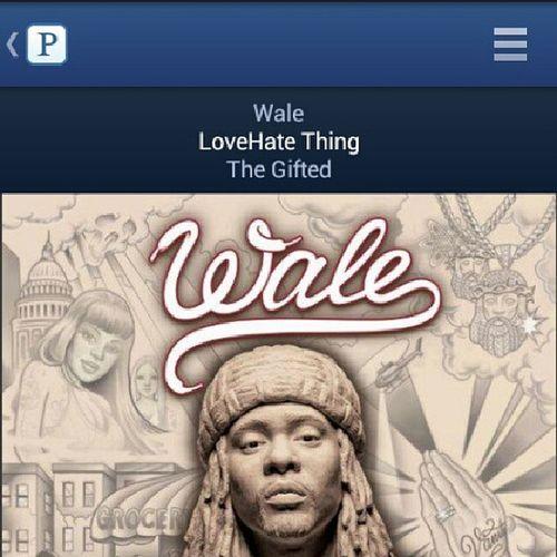 Wale Lovehatething Realshit HipHop rap music pandoraflow pandora radio igdaily tagfortags like4likes