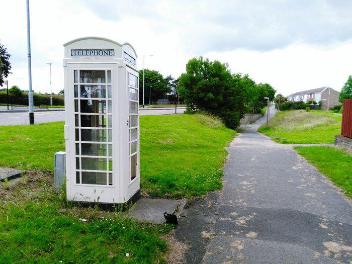 Hull White Phone Phone Booth Phone Box White Phone Booth Glass Broken Broken Glass Vandalism Urban Decay