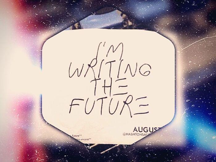 Writing the Future . Keep Optimistic ! 💪 Lazy Day Exam Week