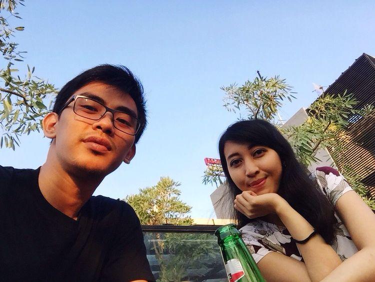 Relax❤️ Happy Couple Drink Enjoying Life Missyou