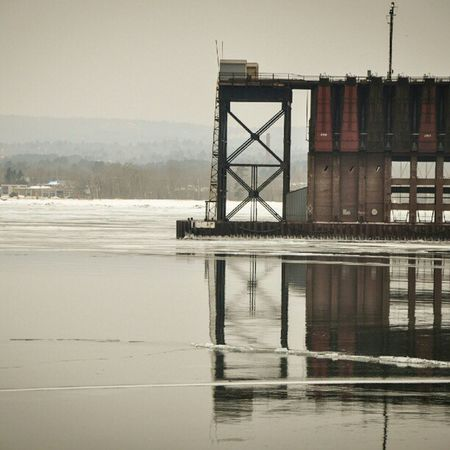 Ore Docks at Marquette . Puremichigan