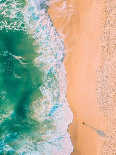 lonesome. Travel Surfer Mavic Pro Drone  Aerial Photography Abstract Rock - Object Cracked Backgrounds Textured  Sand Nature Outdoors No People Day Close-up Time