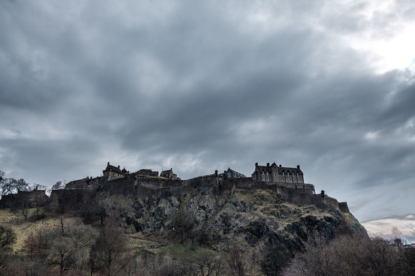 Castle EyeEm Best Shots EyeEm Selects Architecture Beauty In Nature Built Structure Cloud - Sky Day Environment Eye4photography  Formation Low Angle View Mountain Nature No People Non-urban Scene Rock Rock - Object Rock Formation Scenics - Nature Shootermag Sky Solid Tranquil Scene Tranquility