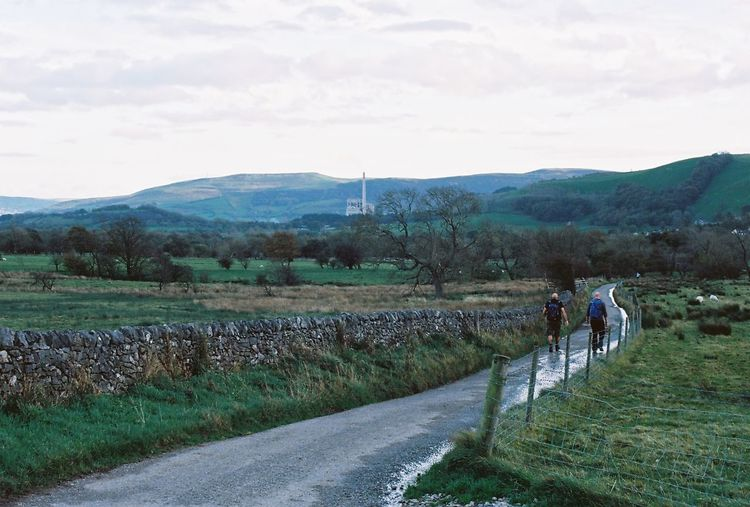 Castleton Derbyshire Uk Rural Scene Walking Nature Agriculture People Livestock Landscape Outdoors Sky Scenics Hiking CarlZeiss Contax167mt